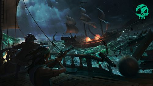 Battle royale sea of thieves