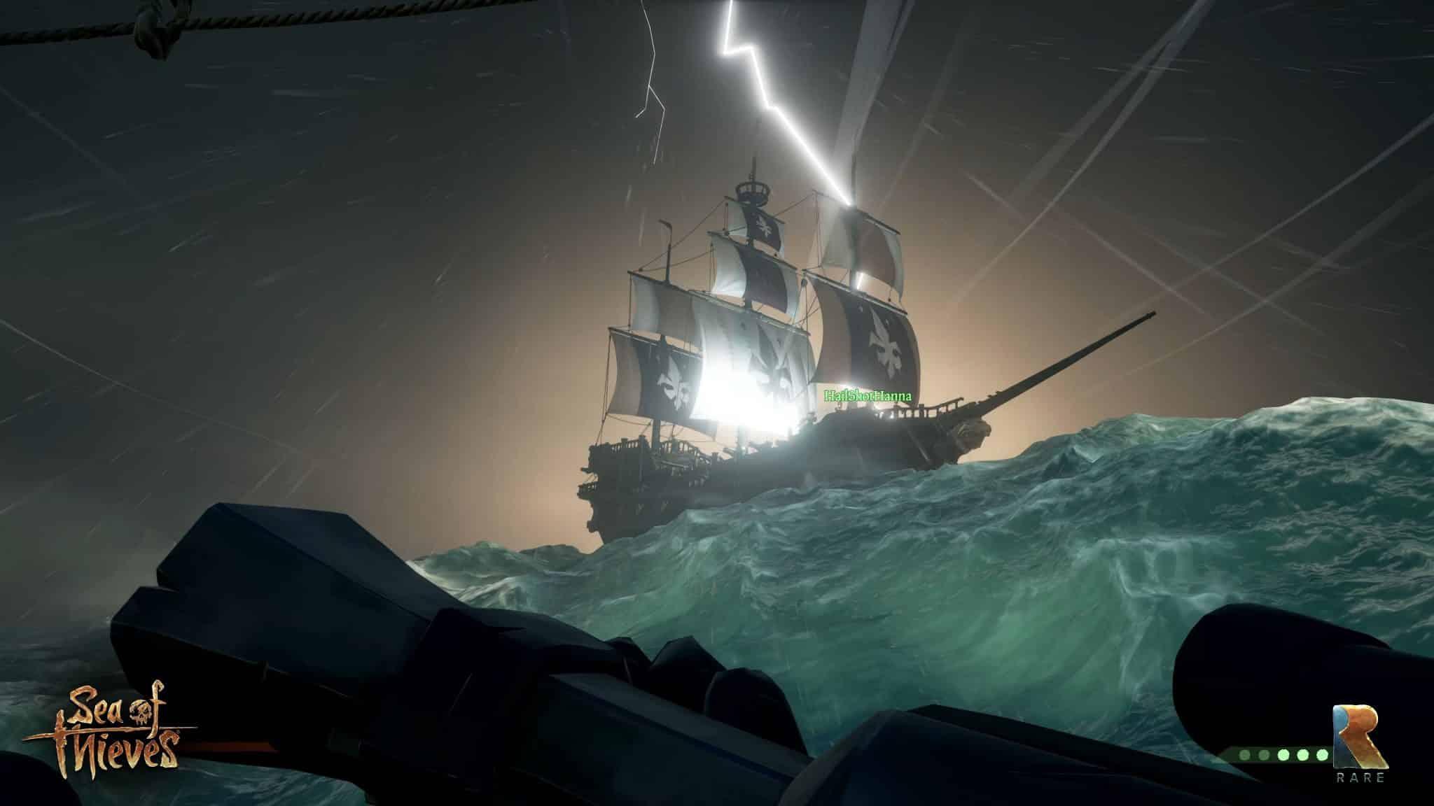 correction de crash sur sea of thieves