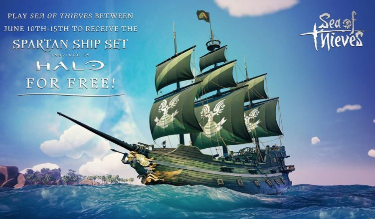 SKINS HALO SUR SEA OF THIEVES