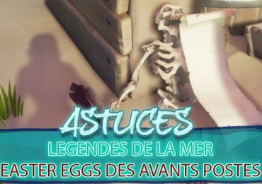 legendes mer Easter Eggs