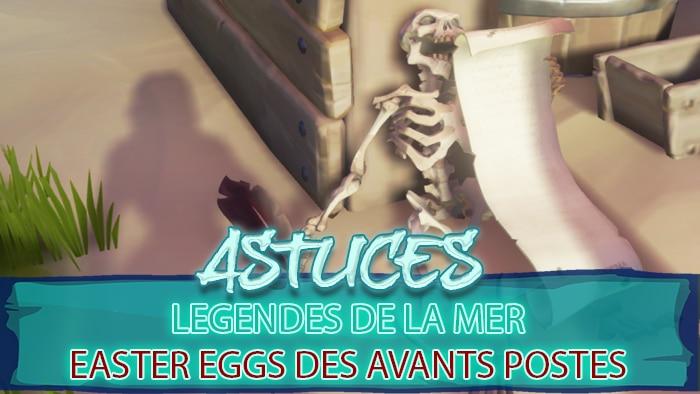 legendes mer Easter Eggs