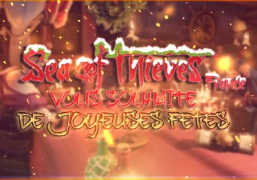 joyeuses fêtes sea of thieves france