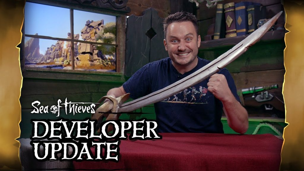 sea of thieves france video des developpeurs