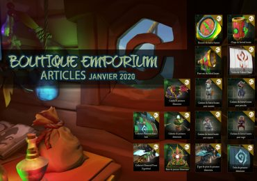 Emporium articles Janvier 2020 sea of thieves france