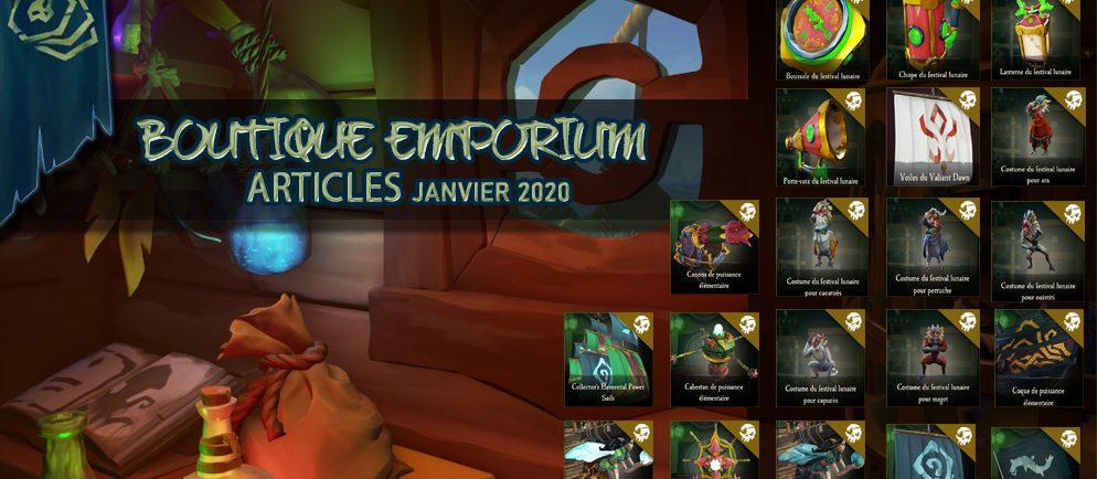 Emporium articles Janvier 2020 sea of thieves france