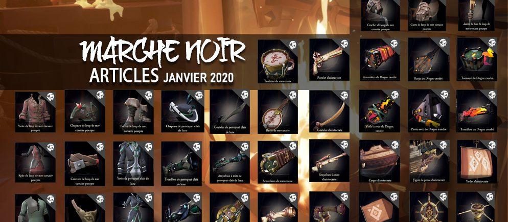 marché noir janvier 2020 sea of thieves france
