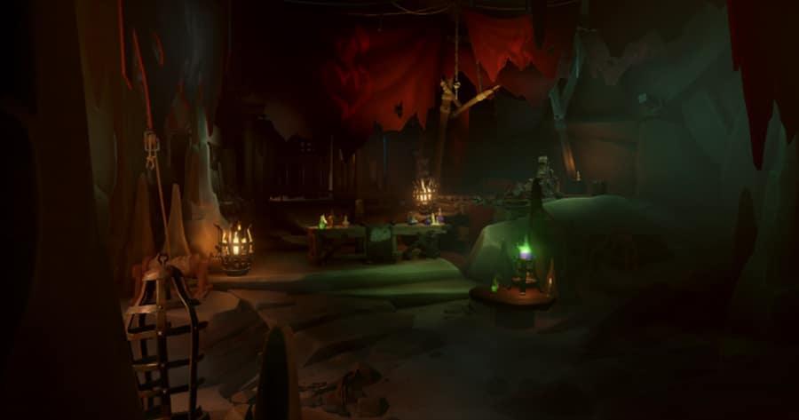 Reaper's hideout