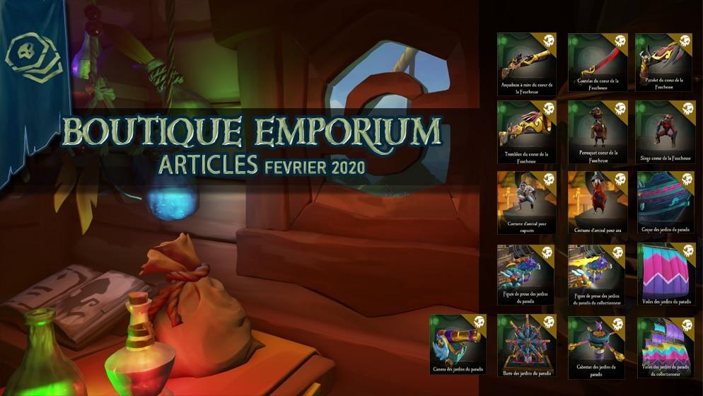 Emporium articles Février 2020