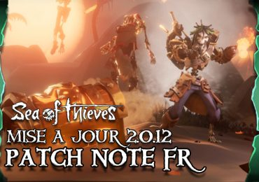 sea of thieves france maj 2.0.12