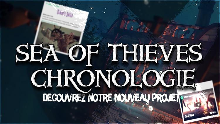 Sea of thieves chronologie