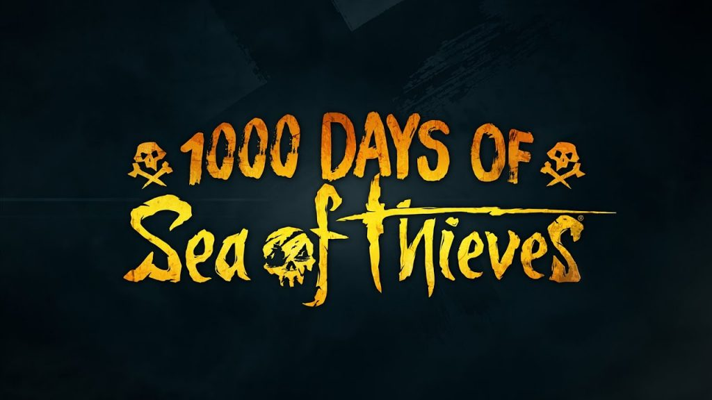 1000 jours sea thieves